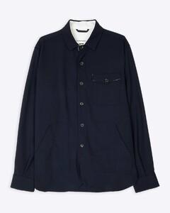 紫色&灰白色羽绒飞行员夹克