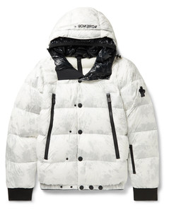 Noussan Quilted Shell Hooded Down Ski Jacket
