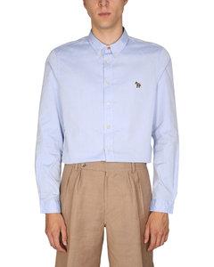 羊毛和羊驼毛混纺衬衫外套