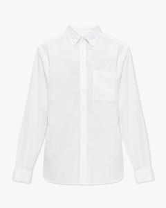 black and white padded shirt