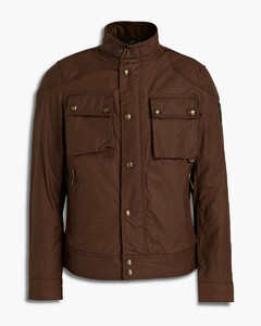 Intarsia cable-knit sweater vest