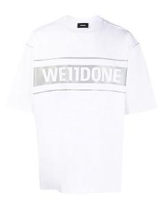 Oversized logo print t-shirt