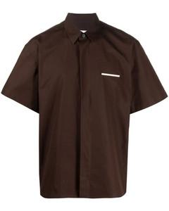 Pin detail boxy shirt