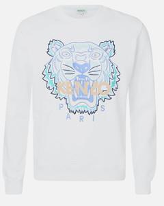 Men's Actua Tiger Sweatshirt - White