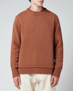 Men's Wool Jumper - Camel