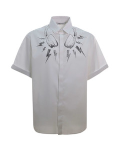 Monogram motif track trousers