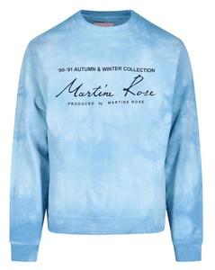 Tie-Dye Print Crewneck Sweatshirt
