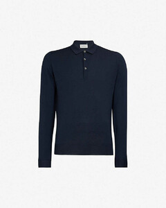 Belper knitted polo jumper