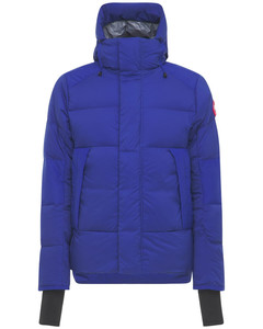Armstrong Hooded Nylon Down Jacket