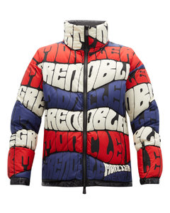Limmat logo-print quilted down ski jacket