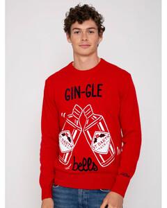 细条纹修身工装裤
