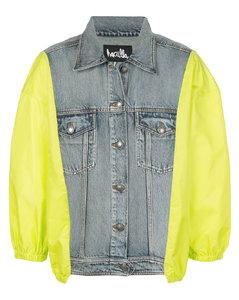 Aztec pattern corduroy shorts