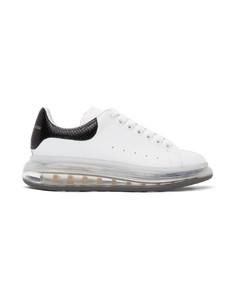 白色Clear Sole阔型运动鞋