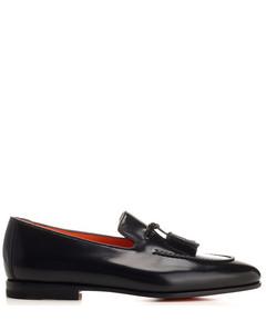 Queercore格纹短靴
