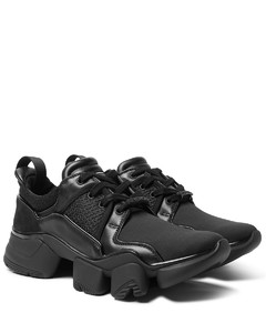 Jaw Neoprene, Suede, Leather and Mesh Sneakers