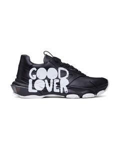 """黑色Mélanie Matranga联名""""Good Lover""""运动鞋"""