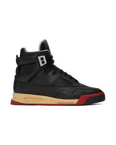 黑色DDSTCK高帮运动鞋