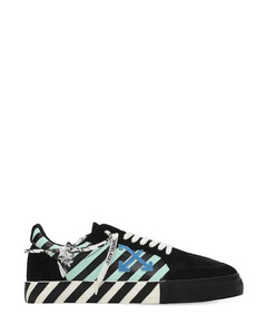 VULCANIZED DIAG LEATHER LOW SNEAKERS