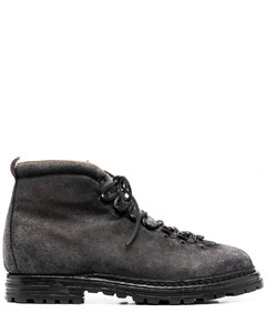 1460 Combat boots in Crazy Horse leather