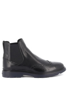 Route leather Chelsea boots