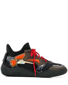 拼色绑带运动鞋