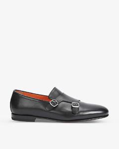 FF压纹皮革拖鞋