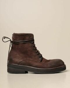 Parrucca ankle boot in suede deerskin