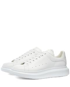 Heel Tab Wedge Sole Sneaker