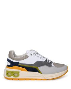 Check Skeleton Canvas Slip-on Sneakers