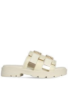 Clatford monk strap calfskin loafers