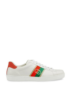 leather Ace sneakers
