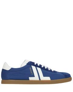 Glen Nylon & Leather Sneakers