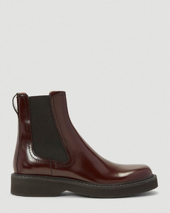 Chelsea Boots in Red