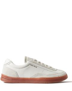 混搭风布洛克式运动鞋