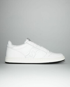 Beck Signature-stripe leather trainers