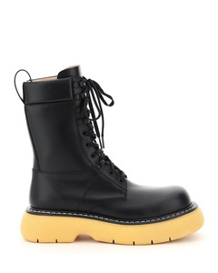 THE BOUNCE LACE-UP BOOTS