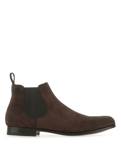 Chocolate suede Danzey ankle boots Brown Church's Uomo