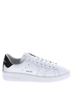 'pure new' sneakers in white leather