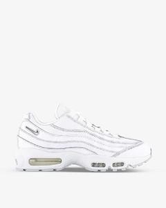 White fabric Clifton sneakers White Hoka One One Uomo