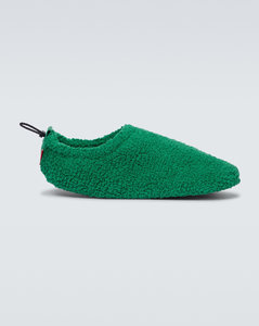 Harold shearling-lined suede slippers