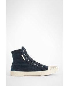 绒面革便鞋