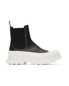 黑色Tread Slick切尔西靴