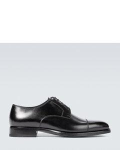 Wessex皮革系带鞋