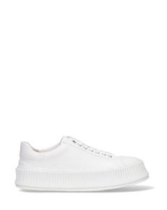 绒面革复古运动鞋