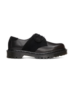 黑色1461 Saddle英产德比鞋