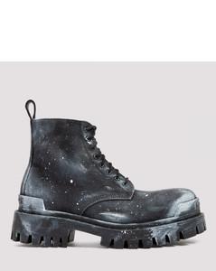 Black Strike Boots