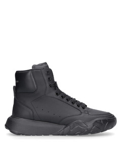 High-Top Sneakers COURT calfskin