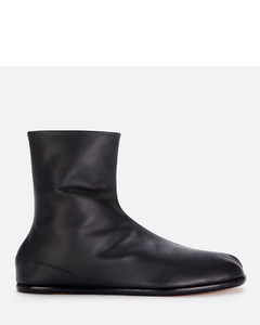Men's Tabi Ankle Boots - Black