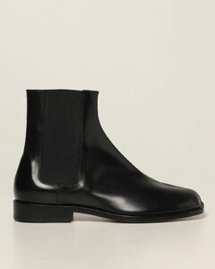 Tabi split leather ankle boots