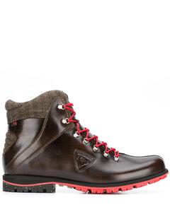 Wallabee皮革靴子
